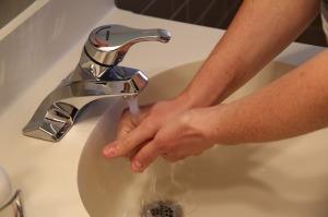 sink, washing hands